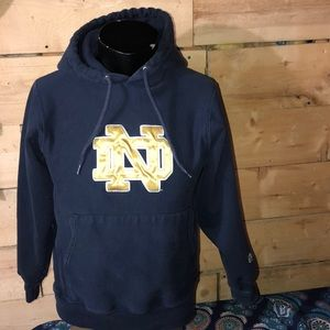 Official Notre Dame bookstore hoodie. Size S